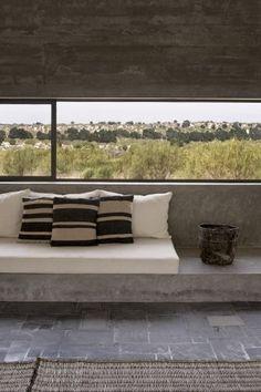 Concrete structure villa dl - essaouira - maroc juin 2014 © photos dan glasser