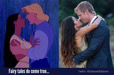 Fairy tales do come true... #TheBachelorWedding Catherine and Sean Lowe https://twitter.com/DiamondDiploma