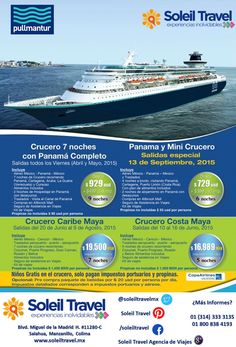 Cruceros Pullmantur en SUPER Promo