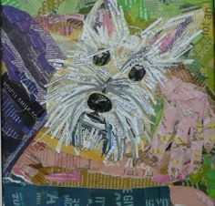 Collage Your Pet: Making Pictorial Collages that Look Like Paintings at Art and Soul Retreat