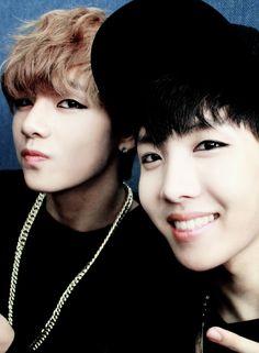 V + J-Hope BTS