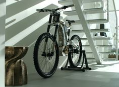 The M55-Bike is not just an amazing luxury toy, it is a piece of art, fits in your modern or classic interior.