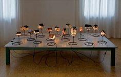 lámpara con forma de casita - Decoración Infantil