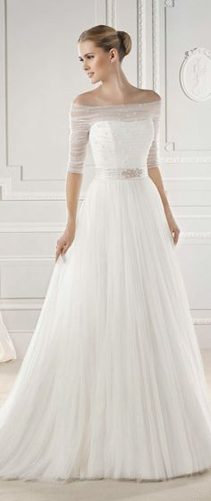 La Sposa Barcelona 2015 Bridal Collections |  www.tweddingdress.com