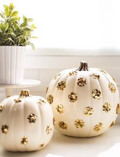 No-Carve Pumpkin Ideas to Step Up Your Halloween Game