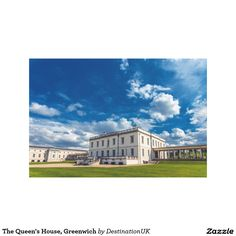 The Queen's House, Greenwich Canvas Prints