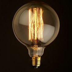 G30 Edison à incandescence ampoule de Cage par newwineoldbottles