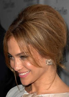 Mother of the Bride -- JLo soft beehive  - Google Search
