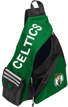 NBA Northwest Boston Celtics Lead Off Sling Backpack Sling Backpack 634636e8c0f57
