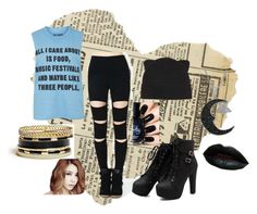 """""""Mood day-"""" by kathope on Polyvore featuring Topshop, Forever 21, Jewel Exclusive and GUESS"""