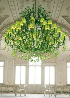spectacular lime green chandeliers by masiero ottocento collection 1 thumb 42537 Spectacular Lime Green Chandeliers by Masiero: Ottocento Collection Green Chandeliers, Foyer Chandelier, Murano Chandelier, Chandelier Shades, Chandelier Lighting, Interior Design Companies, Luxury Interior Design, Green Rooms, Color Of The Year
