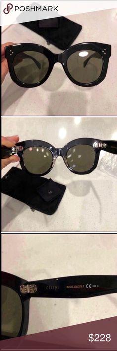 ed91079e7a23 Celine sunglasses 🕶 Celine Chris black grey sunglasses New condition. 100%  authentic Includes original