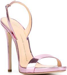 Giuseppe Zanotti Sling Back Pink