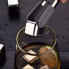 Buy Swanky Whisky Stone Stainless Steel ice cube set of 6 Pcs with best price and COD also available Call us-9899313328 for Oder enquiry 24X7 Whisky, Chill, Cubes, Bar Accessories, Dishwasher, Ice, Stainless Steel, Cool Stuff, Glass
