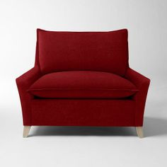 I need this incredibly comfy looking $800 chair. Bliss Down-Filled Chair-and-a-Half - Solids | west elm