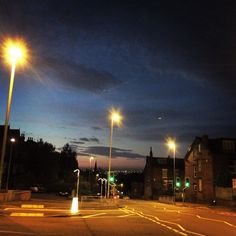 autumn dawn in Leeds
