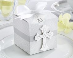 Blessings Favor Box (Set of 24) (Available Personalized)