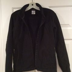 Patagonia Synchilla in black Black, full zip. Gently used. Patagonia Jackets & Coats