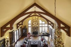 Faux Wooden Beams, Faux Beams, Wood Beams, Faux Ceiling Beams, Wood Ceilings, Coffered Ceilings, Ceiling Decor, Ceiling Design, Clubhouse Design