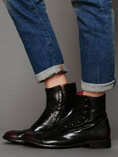 Free People Henry Ankle Boot, 548.00 TOO bad that these have a zipper, if they did not, they would be VERY period correct. Oh well