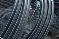 Black PVC hoses - Industrial - 1