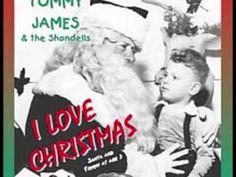 "TOMMY JAMES- ""I LOVE CHRISTMAS"" (+playlist)"