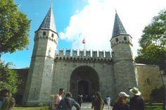Topkapi Palace Gate  Istanbul, Turkey  August 2015