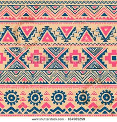 stock-vector-tribal-vintage-ethnic-seamless-for-your-business-184585259.jpg (450×470)