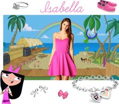 """""""Isabella Garcia-Shapiro"""" by orreed ❤ liked on Polyvore"""