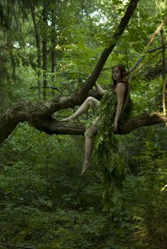 Nature spirit. From groteleur on Tumblr