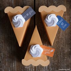 Pie box template