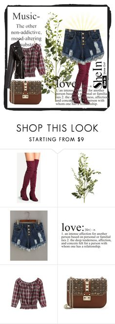 """SheIn 6"" by dinka1-749 ❤ liked on Polyvore featuring Pier 1 Imports and Valentino"