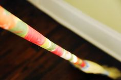 """""""Mod podge your broom. Because, well, why  not?"""""""
