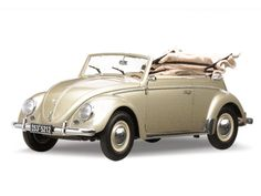 Sun Star model 5212 1953 Volkswagen Karmann Cabriolet – Metallic Beige Limited Edition 2000pcs