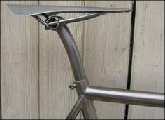 merlin (even the seat) titanium track bike