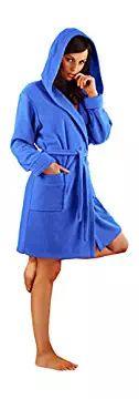 Dorothy Confort Mesdames Robes de Chambre Femmes Peignoir de Bain