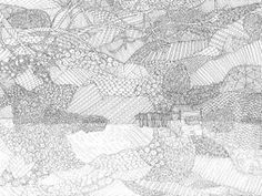 Rydal Water Boat House, Lake District Colouring Page by sarah277 - Teaching Resources - Tes