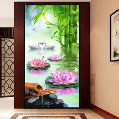 DIY 5D Diamond Painting Diamant Malerei Stickerei Swan Lovers Bilder Home Decor