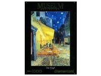 Clementoni: Van Gogh - Cafe Terrace at Night Puzzle Art, Van Gogh, Terrace, Night, Painting, Sidewalk Cafe, Patio, Painting Art, Paint