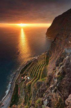 Cabo Girão Madeira , Portugal