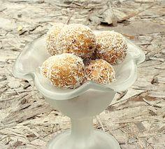 recipes magazine: Apple-Coconut Bites