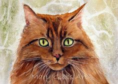 Mary Gibbs art Pretty Cats, Beautiful Cats, Cute Cats, Pretty Kitty, Collage Techniques, Beauty In Art, Watercolor Cat, Here Kitty Kitty, Earth Tones
