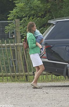 Exclusive: Prince George Spends a Sweet Day With His Grandma Carole Middleton!: Prince George really loves the petting zoo!