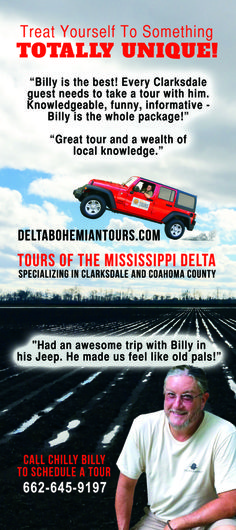 Get all our Delta Bohemian Tour info here. You'll enjoy a customized Mississippi Delta driving tour from Clarksdale native Chilly Billy Howell. Clarksdale Mississippi, Mississippi Delta, Knowledge, Bohemian, Tours, Good Things, Boho, Facts