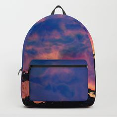 The World On Fire Backpack #society6 #backpack #shopping #gifts #bags #schoolbag #LLLCreations