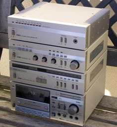 AIWA mini compo - how many of you have kept these systems going even as audio amplification for your computer?
