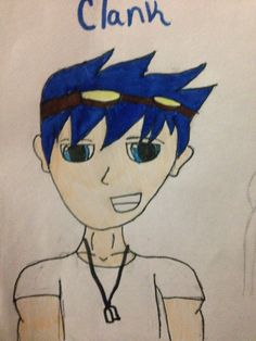 Ok so I changed some of my OCS. So here's clank. Yay.