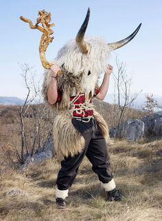 Wilder Mann photographer Charles Fréger book explores ancient traditions of tribal Europe
