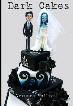 Dark Cakes by Verusca Walker  skip the B/G.... add a big spider or skull