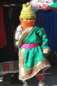 Tibetan Girl All Bundled Up
